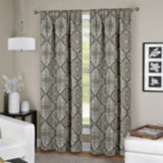 Camilla Rod-Pocket/Back Tab Curtain Panel