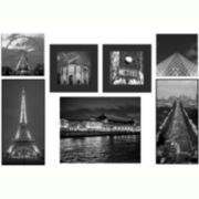 Paris Cityscape 7-pc. Wall Decor Set