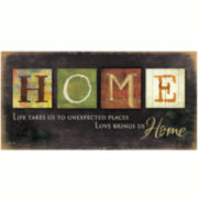Home Canvas Wall Art