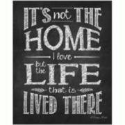 Home Life Canvas Wall Art