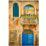 Tuscan Scene Canvas Wall Art
