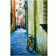 Tuscan Street Canvas Wall Art