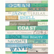 Ocean Rules Canvas Wall Art