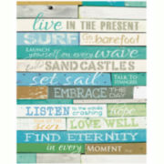 Live in the Present Canvas Wall Art