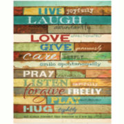 Live Joyfully Canvas Wall Art