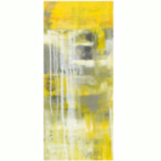 Abstract Mellow Yellow Canvas Wall Art