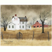 White House Tallgrass Canvas Wall Art