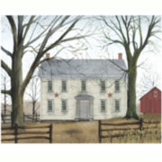 Grand Farmhouse Canvas Wall Art