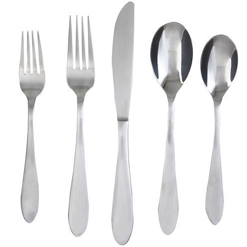 Cambridge® Apex Satin 20-pc. Flatware Set