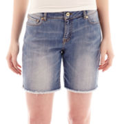 MNG by Mango® Denim Bermuda Shorts