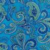 Oasis Blue Paisley