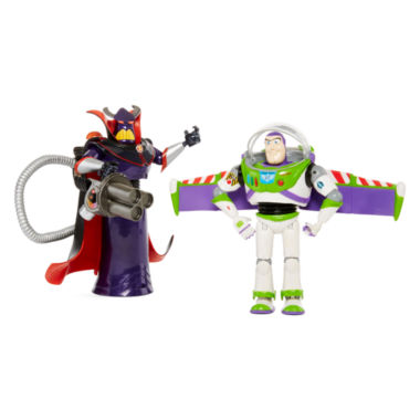 jcpenney.com | Disney Collection Buzz and Zurg 2-pk. Figurine Set
