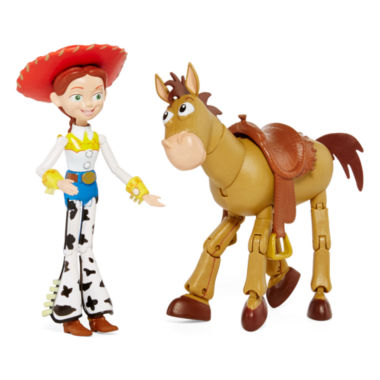 jcpenney.com | Disney Collection Jessie and Bullseye 2-pk. Figurine Set