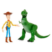 Disney Collection Woody and Rex 2-pk. Figurine Set