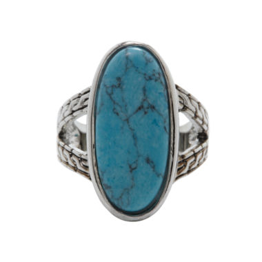 jcpenney.com | city x city® Simulated Turquoise Statement Ring