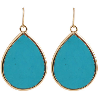 jcpenney.com | Art Smith by BARSE Blue Magnesite Teardrop Earrings