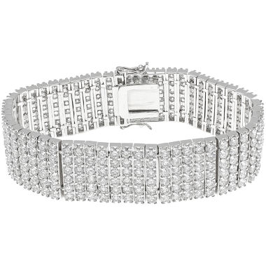 jcpenney.com | CZ by Kenneth Jay Lane Pavé 6-Row Bracelet