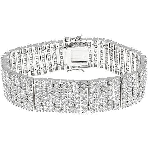 CZ by Kenneth Jay Lane Pavé 6-Row Bracelet