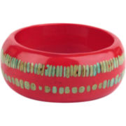 Designs by Adina Persimmon Resin Large Bangle