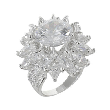 jcpenney.com | CZ by Kenneth Jay Lane Floral Statement Ring