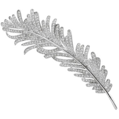 jcpenney.com | CZ by Kenneth Jay Lane Cubic Zirconia Vintage Feather