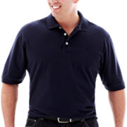 IZOD® Solid Piqué Polo Shirt–Big & Tall