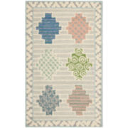 Martha Stewart Rugs™ Patchwork Accent Rug – Pewter Gray