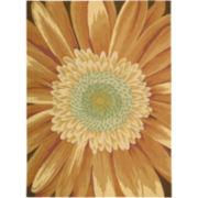 Nourison® Sunflower Blossom Hand-Hooked Rectangular Rug