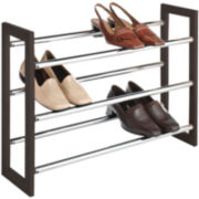Sophisticate 3-Tier Expandable Shoe Rack