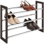 Sophisticate 3-Tier Expandable Shoe Rack