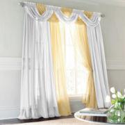JCPenney Home™ Lisette Rod-Pocket Sheer Panel