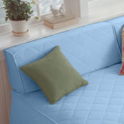 JCPenney Home™ Cotton Classics Quilted Wedge Bolster Covers