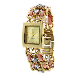 Womens Texture Band Watch