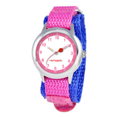 jcpenney.com | Red Balloon™ Kids Easy-Read Character Fast Strap Watch