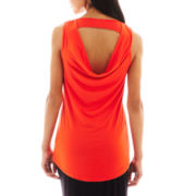 Bisou Bisou® Drape-Back Tank Top