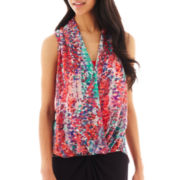 Bisou Bisou® Twist High-Low Tank Top