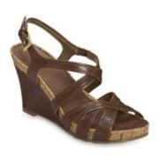 A2 by Aerosoles® Candyplush Wedge Sandals