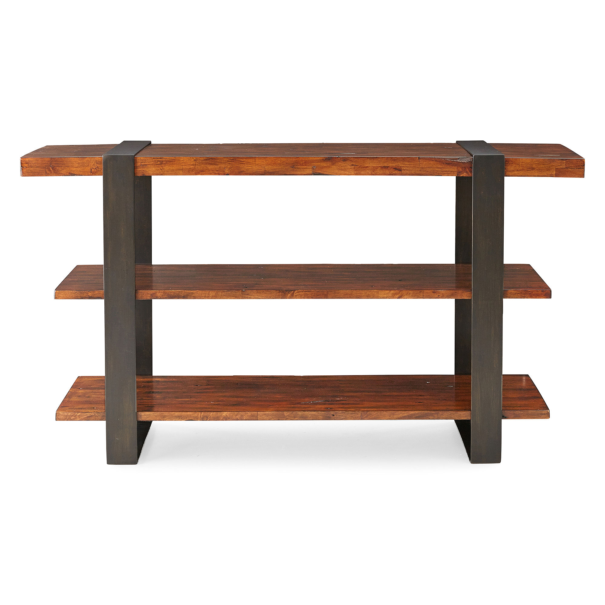 Timber Forge Distressed Console Table