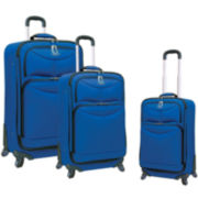 FORD Focus 3-pc. Expandable Spinner Upright Luggage Set