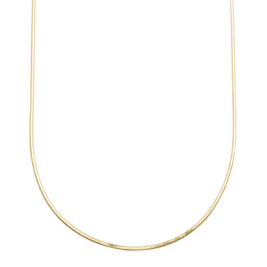 "jcpenney.com | Infinite Gold™ 14K Yellow Gold 18"" Snake Chain Necklace"