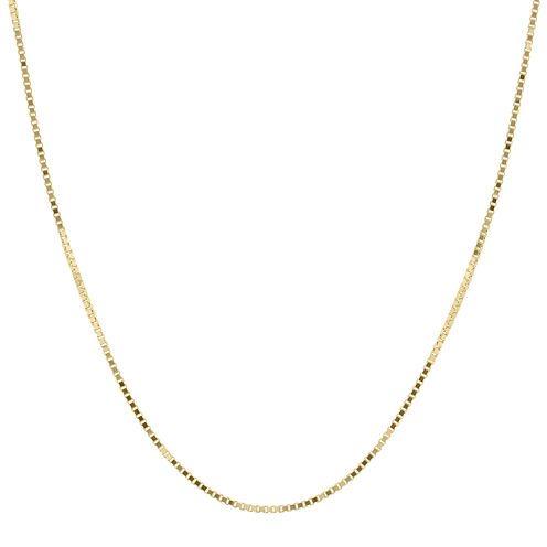 """Infinite Gold™ 14K Yellow Gold 18"""" Box Chain Necklace"""