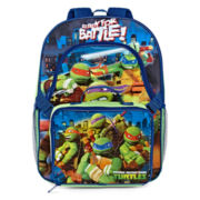 Teenage Mutant Ninja Turtles Backpack with Lunch Box