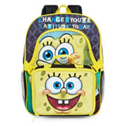SpongeBob Backpack with Lunch Box