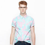 Arizona Short-Sleeve Printed Woven Shirt