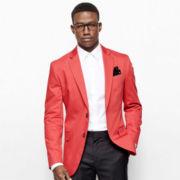 JF J. Ferrar® Slim-Fit Cotton Sport Coat