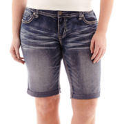Ariya™ Curvy Denim Bermuda Shorts - Plus