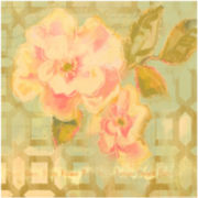 Weston Floral Canvas Wall Art