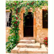 Tuscany Front Door Canvas Wall Art