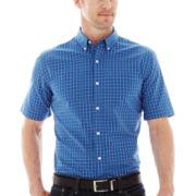 St. John's Bay® Easy-Care Poplin Shirt