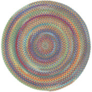 Capel American Traditions Braided Wool Round Rug